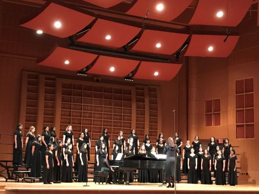 """Clements High School Chorale Women: """"I Count it All Joy"""""""