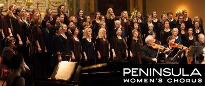 """Hands Upon the Plow"" commissioned by Peninsula Women's Chorus"