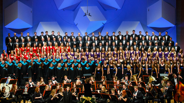 """""""Comfort and Joy"""" Commissioned for Televised University of St. Thomas Christmas Concerts"""